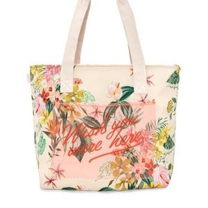 Ban.do Paradiso Tropical Cooler Insulated Tote Bag